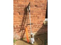 Long reach adjustable hedge trimmer Stihl HLE 71K electric