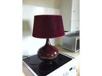 Table lamp - large. As new.