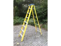 8 tread electricians step ladders