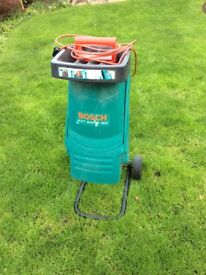 Bosch AXT Rapid 180 Garden Shredder. Not been used for at least 5 years but still in good condition