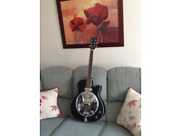 Electro acoustic cutaway Resonator guitar