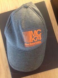 Men's/Teens MCKENZIE baseball cap - one size VGC
