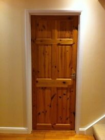 5 Knotty Pine Internal Doors