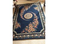 Two Wilton style rugs