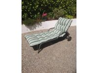 Kettler garden chair and cushion.