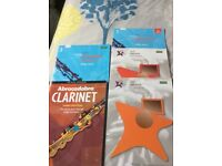 Clarinet books for learners.