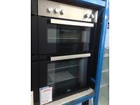 Beko 90cm double fan intergrated oven. £230 new/graded 12 month Gtee
