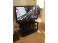 Panasonic Viera tv &ad by player and stand