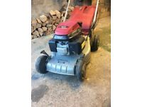 Petrol lawnmower self propelled with Honda 135cc engine