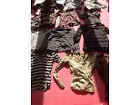 Job lot of women's & girls's clothes mixture in mainly size 12