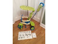 Smart Trike - blue and green with manuals and Alan key - £25