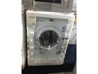 Beko intergrated washing machine 6.5kg 1200spin new/graded 12 month Gtee
