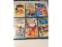 Winnie The Pooh VHS's