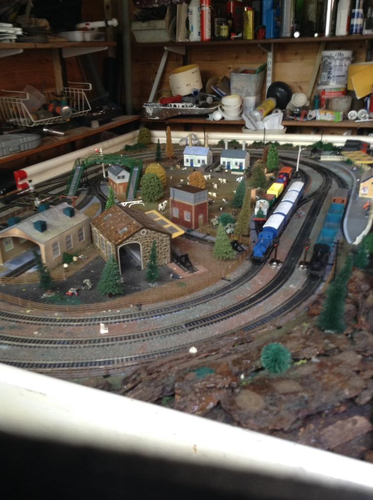 6 X 4 Train Layout Oo Gauge Plus Trains In Chalfont St