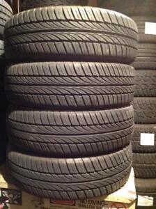 4 pneus d'été neuf ! 185/65 r15 général evertrek.  225$