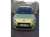CITROEN C3 PICASSO 1.6 PICASSO EXCLUSIVE HDI 5d 90 BHP (green) 2010