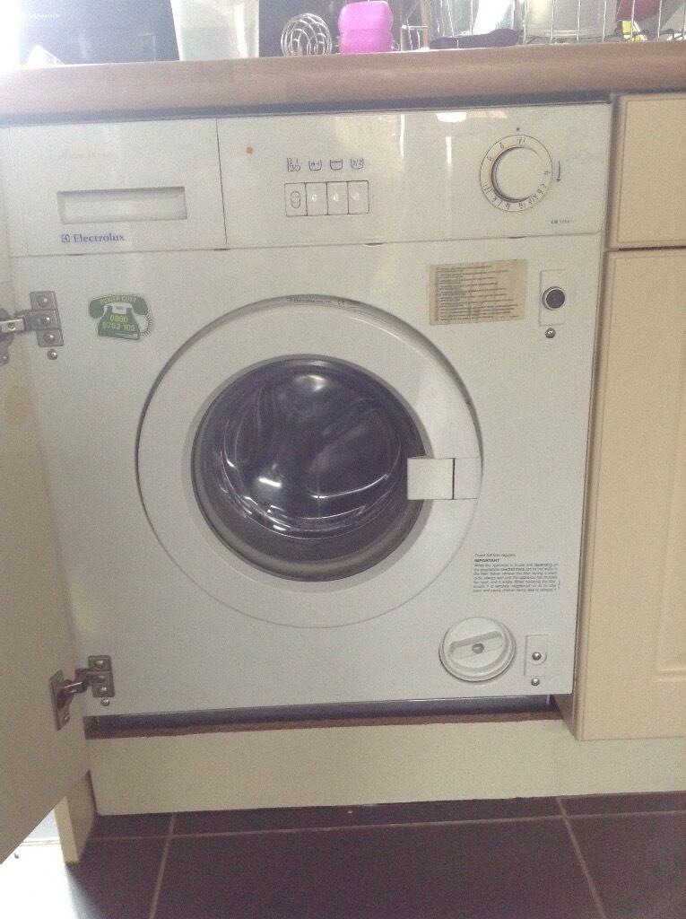 electrolux aqualux 1200. electrolux aqualux 1000 integrated washing machine 1200