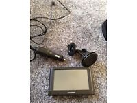 Garmin Sat Nav with window mount and charger