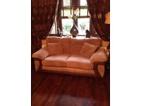 3 seater and 2 seater cord sofas