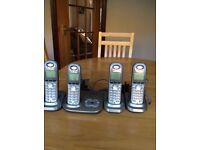 4 Panasonic Phones
