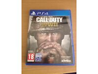 Ps4 game Call of duty WW2