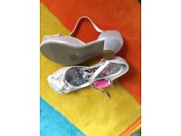 New girls party shoes - size 13