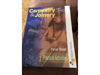 **REDUCED** 2 x carpentry/Joinery apprenticeship books