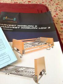 Woburn Single HealthCare Bed (electric) and Modular Foam Mattress