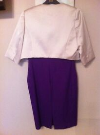 Purple coast dress and belaro