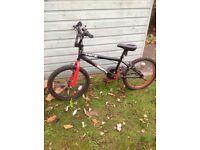 "X-Rated Quarter BMX bike 20""wheel"