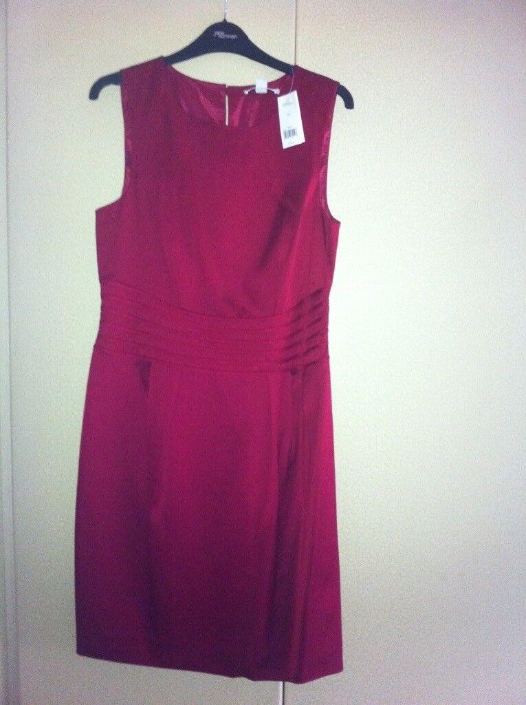 Banana Republic Dark Red ocassion/wedding dress US 10 (UK 14)   in ...
