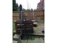 Map fishing pole for sale with top sections