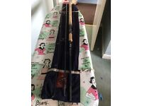10 foot hardy perfection spinning rod in good condition