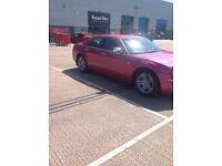 Chrysler 300c in pink