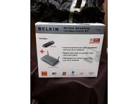 Belkin wireless networking starter kit