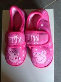 Pepper Pig slippers brand new