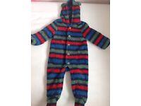 Joules snow suit - size 9-12 months