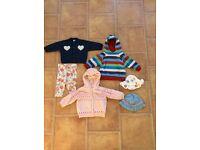 Girls Clothes Bundle 6-12 months