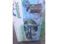 PondoMatic Pondtec Fishpond Pump/Hoover/Sludge remover.