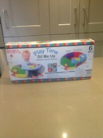 Playtime Inflatable Ring With Play Tray