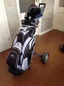 King Cobra ss Ladies Golf Clubs , Bag and Trolley