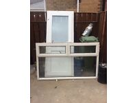 Old style pvc window - used