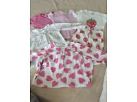 Girls 5 - 6 Mini Boden Nightwear Pyjamas Nightie Bundle