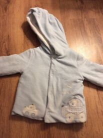 Baby boys jacket 6-9 months