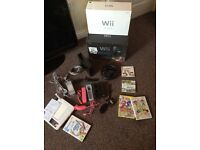 As new Nintendo wii with wii sports , wii sport resort, wii draw and more