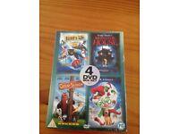 4 piece DVD set (Brand New)