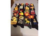 Adult men socks 6-11 shoe size new 13 of