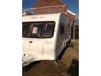 Bailey senator Vermont 2004 2 berth with motor mover