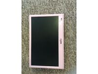 PINK TV c/w built in DVD & freeview