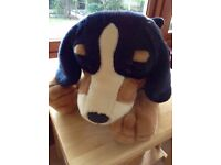 Large Fluffy Dog Toy! - Keel toys - Pristine condition!